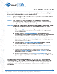 Energy Policy Statement